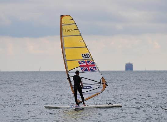 If you see GBR1 on the water, it is Portland resident and Olympic Silver Medallist, Nick Dempsey!
