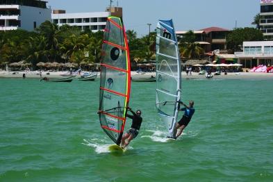 Mr & Mrs Windsurfing