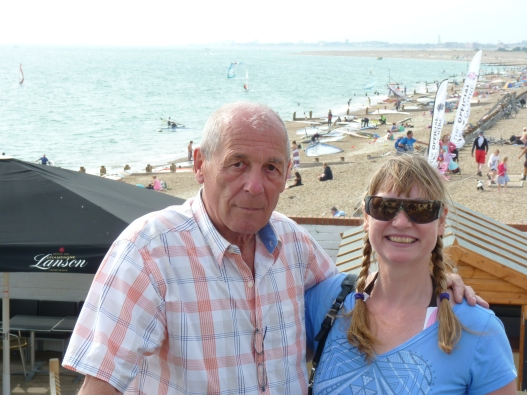 And Peter Chilvers, he just invented windsurfing at Hayling Island, aged 12!