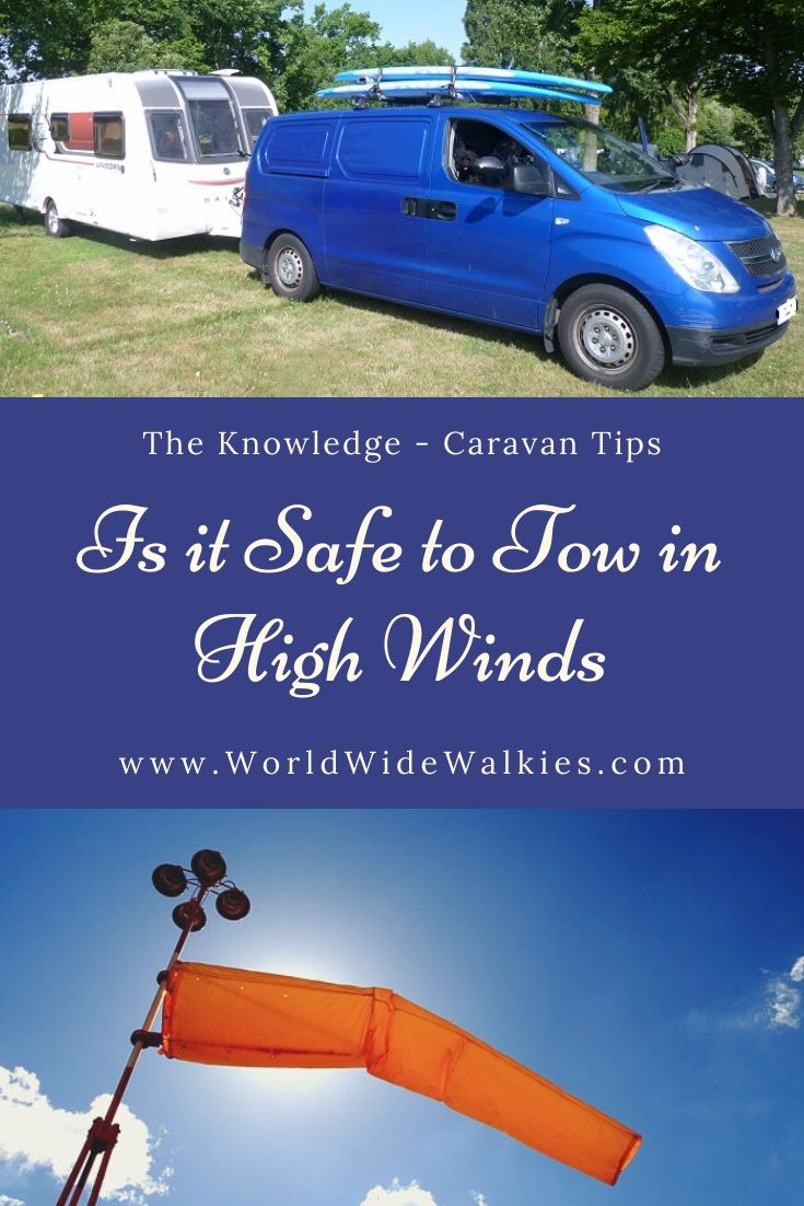 Towing in High Wind Pin