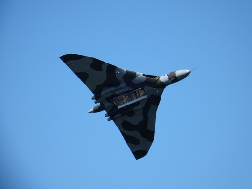 The Vulcan Bomber, my favourite plane.
