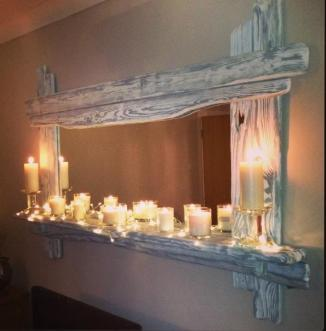 4ft Driftwood mirror from £229.00