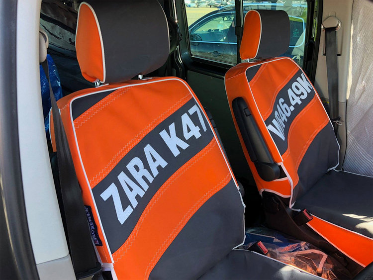 Jackyards-seat-covers-Zara-Davis-windsurfer