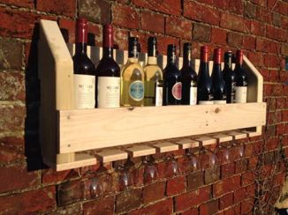 Wine & Glass Rack - £49.99