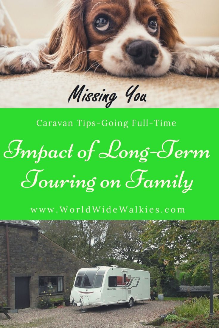 Impact of Touring on Family Pin