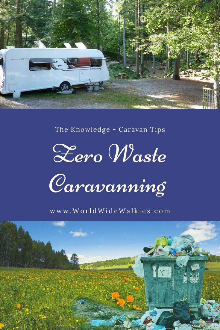 Zero Waste Caravanning Pin