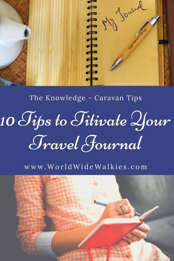 10 Tips to Titivate your Travel Journal PIn