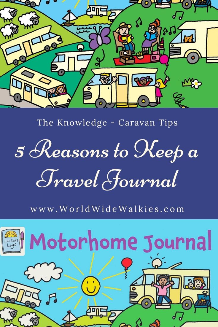 Reasons to Keep a Travel Journal Pin