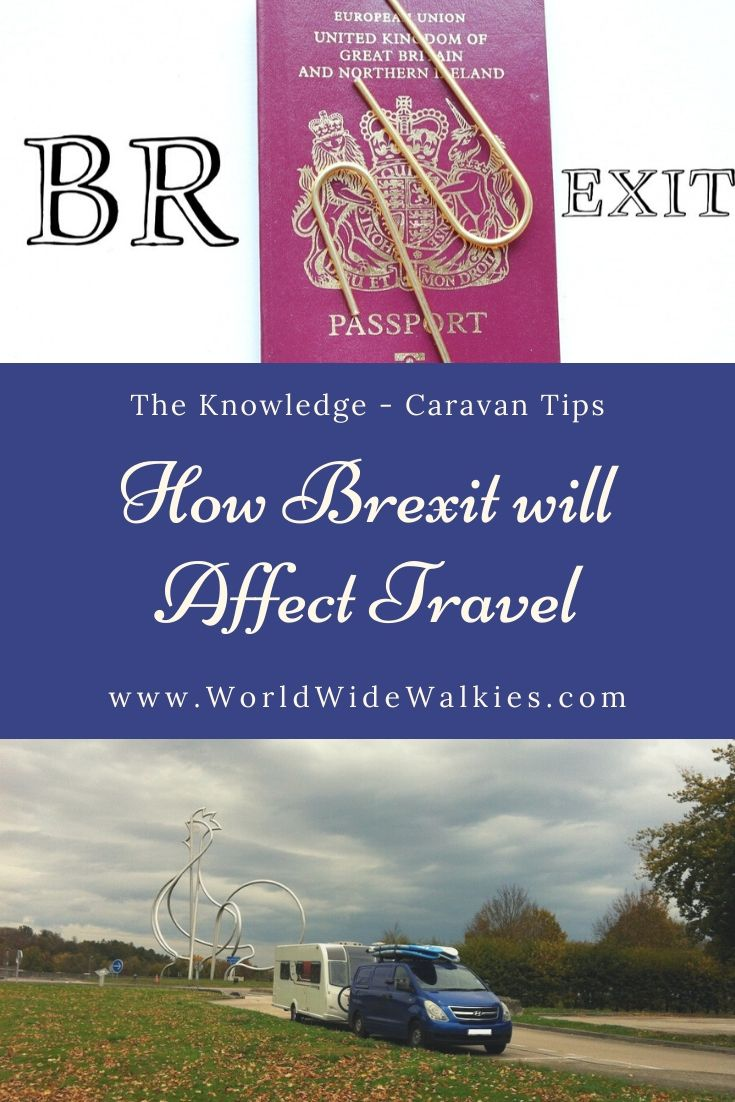 How Brexit Affects EU Travel Pin