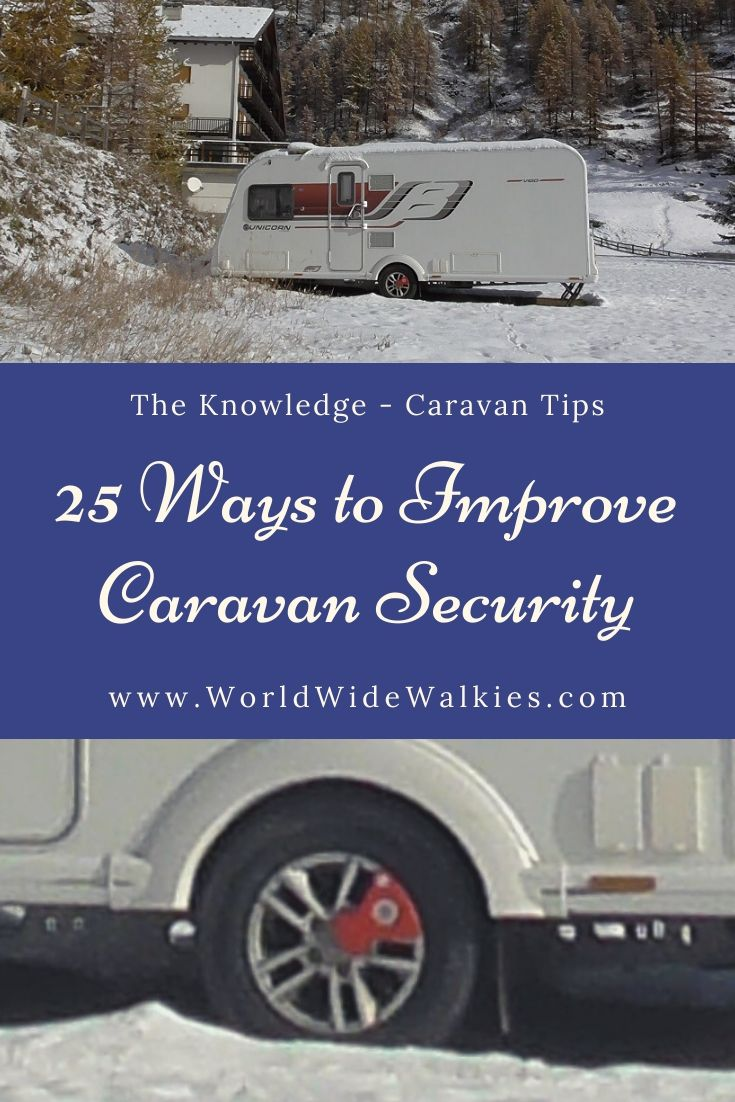 Caravan Security Pin