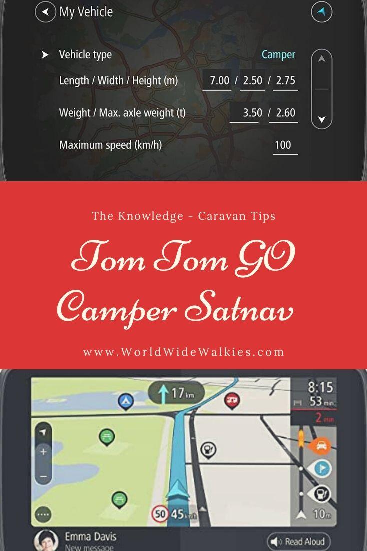 Tom Tom GO Satnav Review Pin
