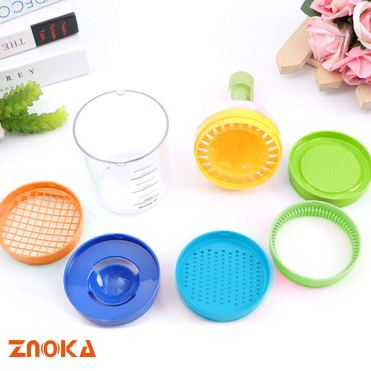 Znoka multipurpose kitchen tool exploded