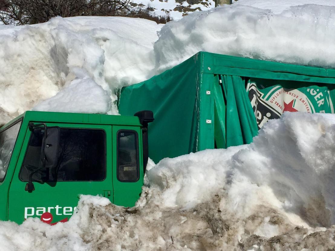 The Heineken Lorry