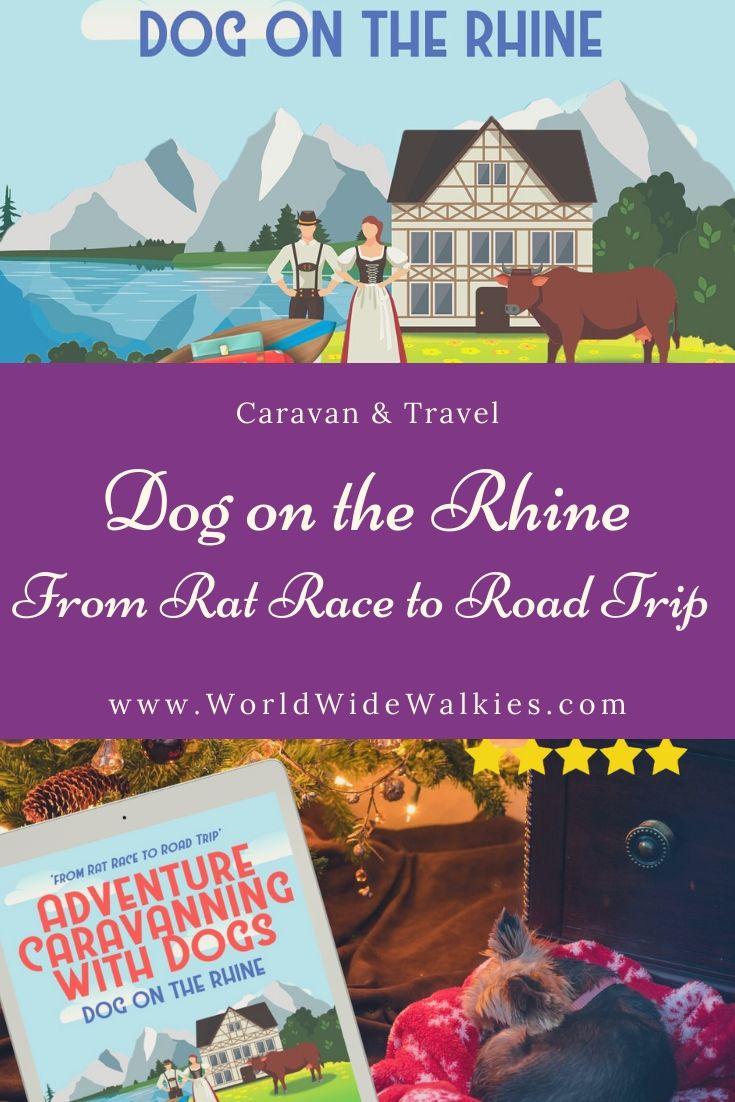 Dog on the Rhine Book Pin