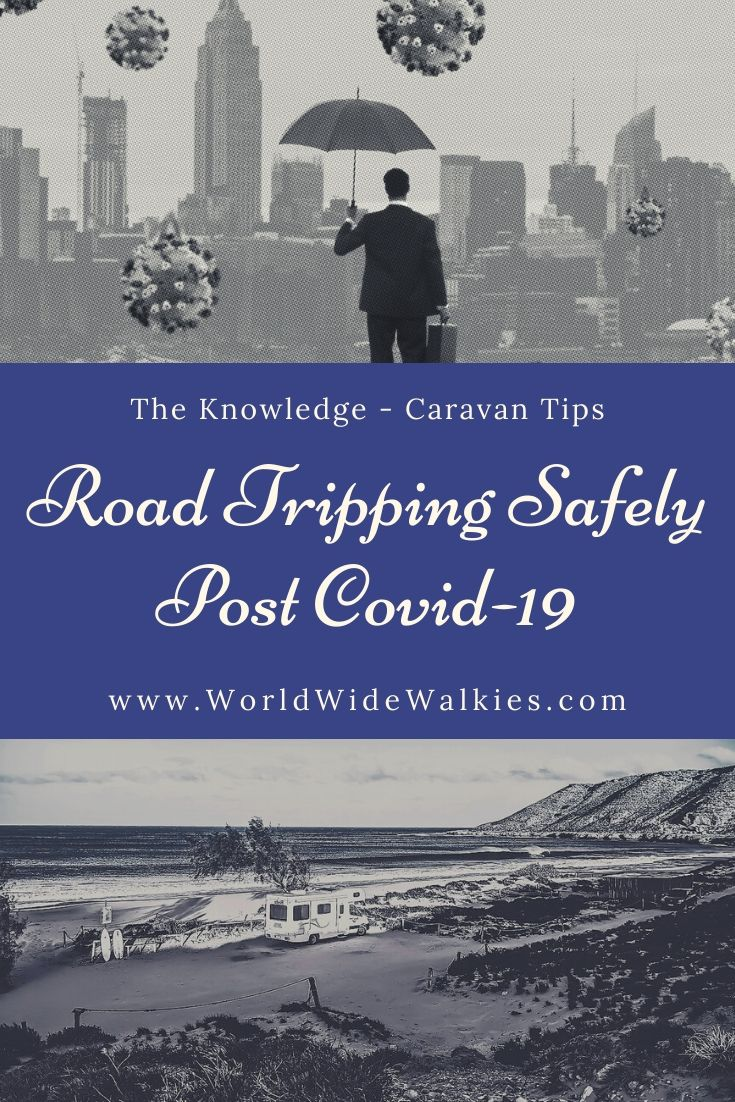 Road Tripping Safely Post Covid Pin