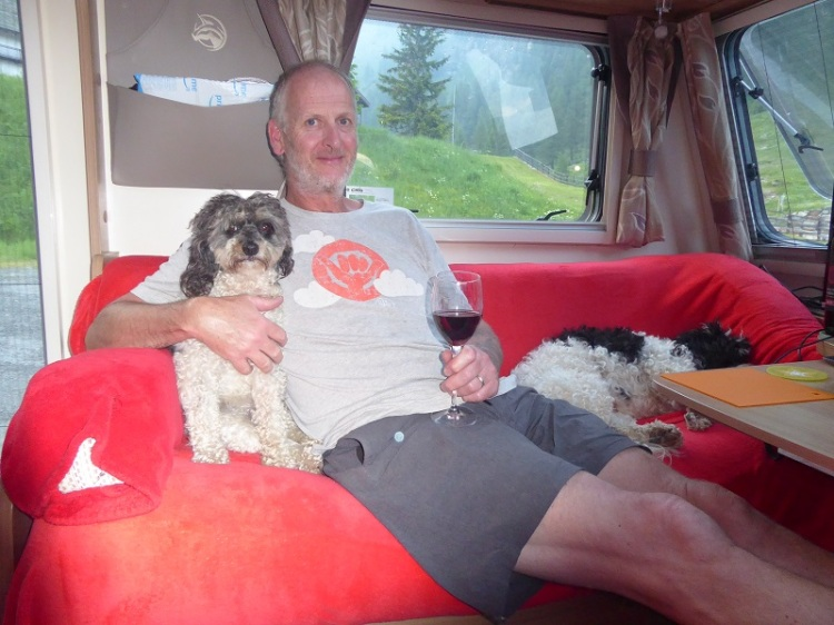 man_with_dog_&_Wine