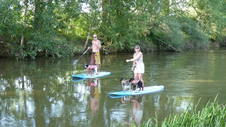 SUP on River Unstrut